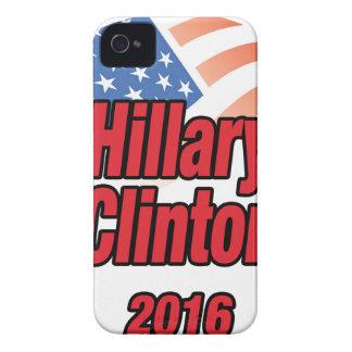 Hillary Clinton para el presidente en 2016 Case-Mate iPhone 4 Funda
