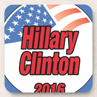 Hillary Clinton para el presidente en 2016 Posavaso