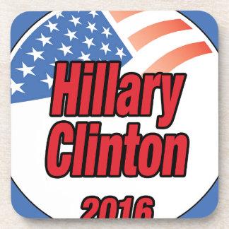 Hillary Clinton para el presidente en 2016 Posavasos