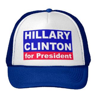 Hillary Clinton para el presidente Gorros Bordados