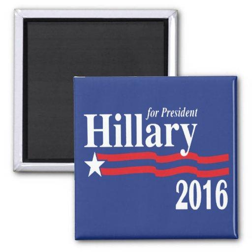 Hillary Clinton para el presidente imán 2016