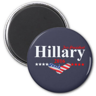 Hillary Clinton para el presidente Imán Redondo 5 Cm