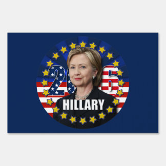 Hillary Clinton para el presidente muestra de 2016 Letreros