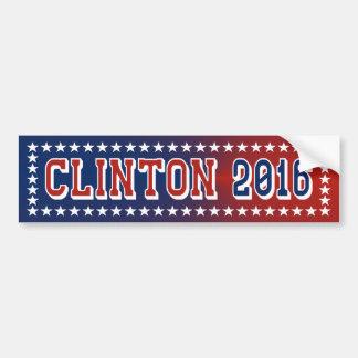 Hillary Clinton para el presidente pegatina para e Pegatina Para Auto