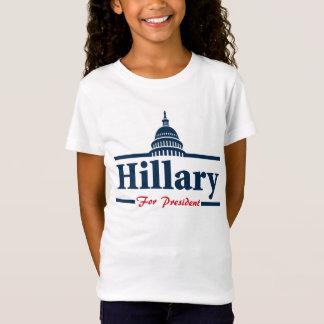 Hillary Clinton para el presidente Playera