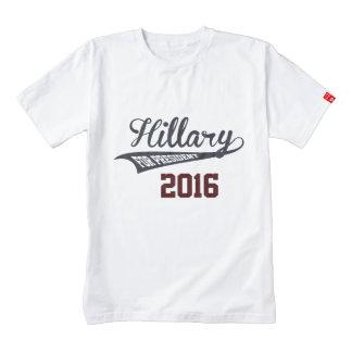 Hillary Clinton para el presidente Playera Zazzle HEART