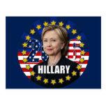 Hillary Clinton para el presidente postal 2016