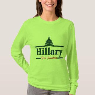 Hillary Clinton para el presidente Remera