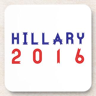Hillary Clinton para el texto 2016 del presidente Posavasos