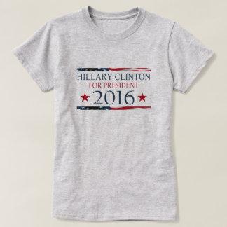Hillary Clinton para la BANDERA del presidente Playera