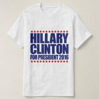 Hillary Clinton para la camiseta del presidente
