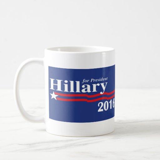 Hillary Clinton para la taza del presidente 2016