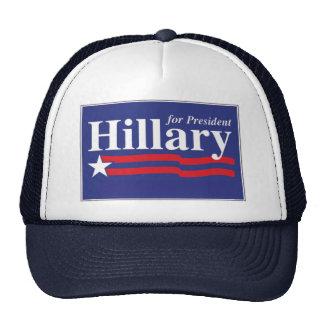 Hillary Clinton para presidente Hat Gorros