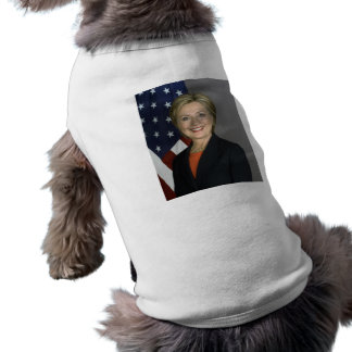Hillary Clinton Playera Sin Mangas Para Perro