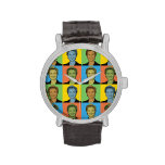 Hillary Clinton Pop-Art Watch