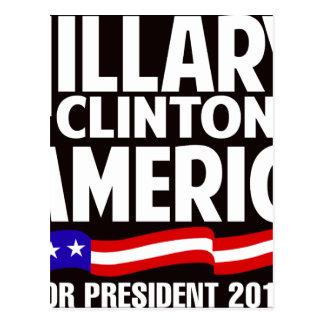 Hillary Clinton Postcard