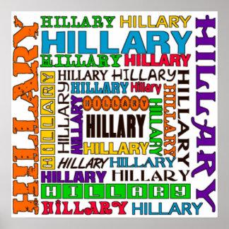 Hillary Clinton Póster