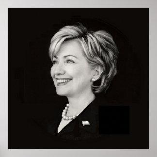 Hillary Clinton POSTER Print