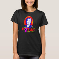 "Hillary Clinton ""POTUS"" Women's Nano Shirt"
