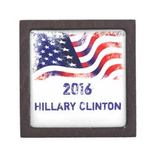Hillary Clinton PREMIUM TRINKET BOXES