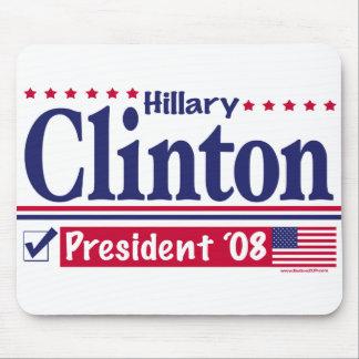 Hillary Clinton President 2008 Mousepad