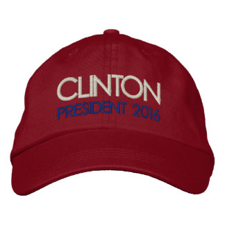 HILLARY CLINTON President 2016 Embroidered Hat