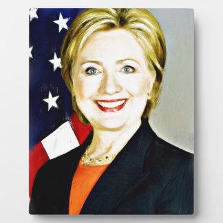 Hillary Clinton-President of USA_ Plaque