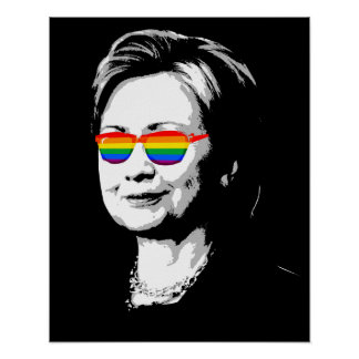 Hillary Clinton Pride Poster