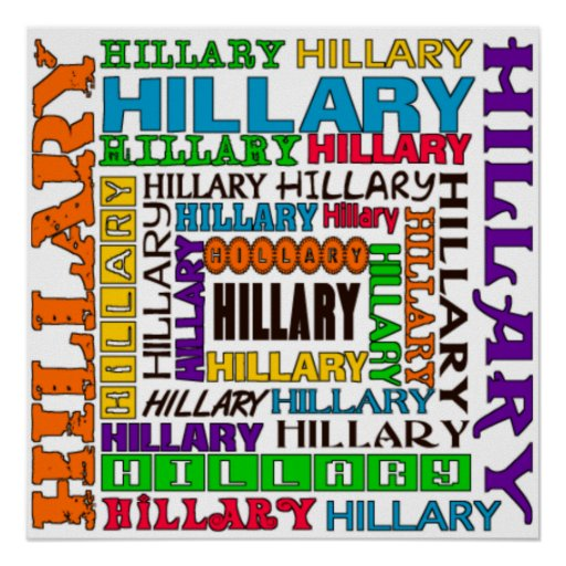 Hillary Clinton Print