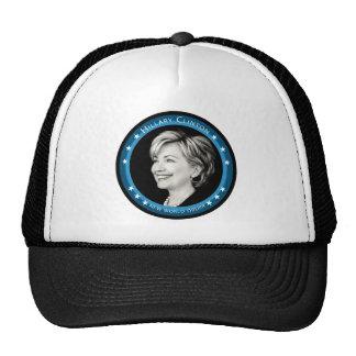 hillary Clinton: rayos azules: Gorro De Camionero