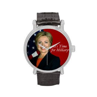 Hillary Clinton Reloj De Mano