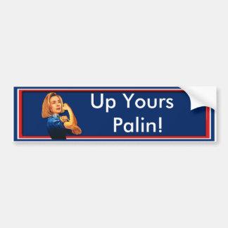 Hillary Clinton, Rosie el remachador, encima el su Pegatina Para Auto