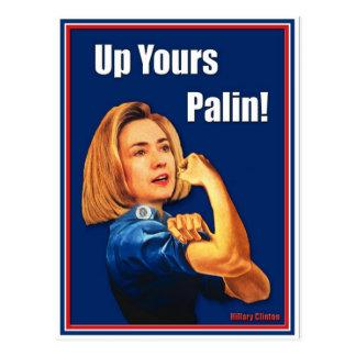 Hillary Clinton, Rosie el remachador, encima el su Postal