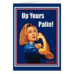 Hillary Clinton, Rosie el remachador, encima el Tarjeta De Felicitación