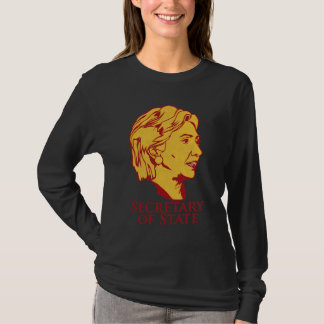 Hillary Clinton Secretary of State - Customized T-Shirt