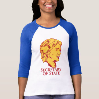 Hillary Clinton Secretary of State T-Shirt