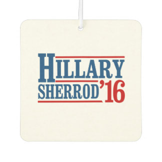 Hillary Clinton / Sherrod Brown 2016 Car Air Freshener