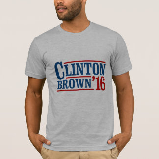 Hillary Clinton / Sherrod Brown 2016 T-Shirt