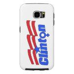 Hillary Clinton + Símbolo femenino Fundas Samsung Galaxy S6