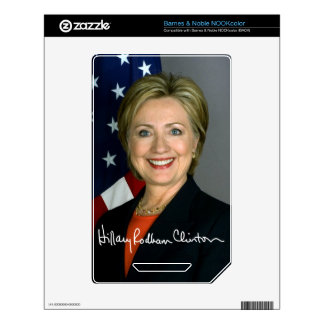 Hillary Clinton Skin For The NOOK Color