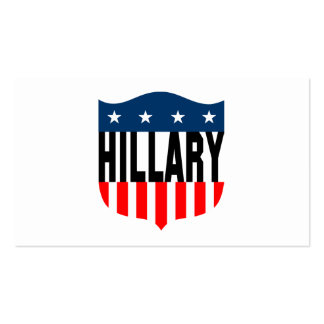 hillary clinton stars and stripes Double-Sided standard business cards (Pack of 100)