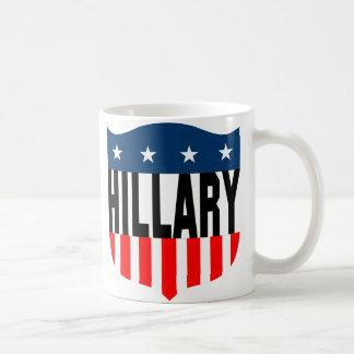hillary clinton : stars & stripes : coffee mug