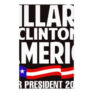 Hillary Clinton Stationery