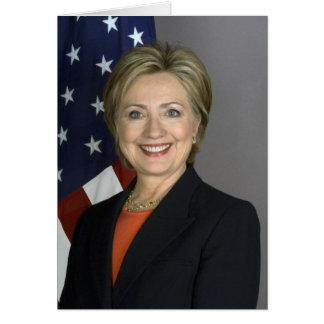 Hillary Clinton Tarjeta De Felicitación