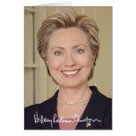 Hillary Clinton Tarjetón