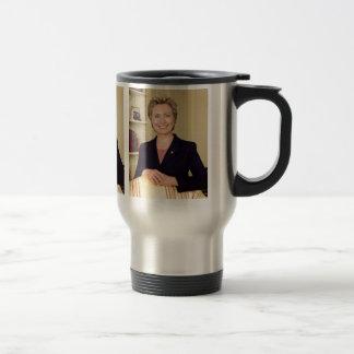 Hillary Clinton Taza De Viaje De Acero Inoxidable