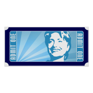 hillary clinton. the ticket. posters