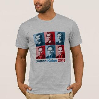 Hillary Clinton Tim Kaine 2016 Playera