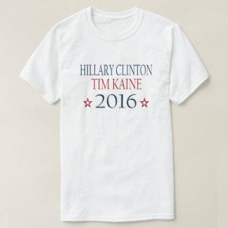 Hillary Clinton Tim Kaine 2016 Remeras