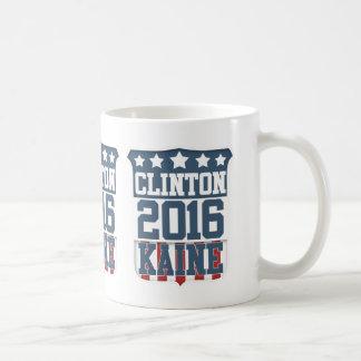 Hillary Clinton Tim Kaine 2016 Taza Clásica